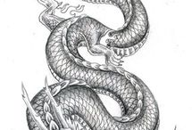 Dragones mitológicos