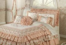 Romantic Ruffles / Yearning for the quaint, genteel atmosphere of yesteryear? These romantic home accents revive a little bygone beauty with layers of ruffles and a charming appearance.