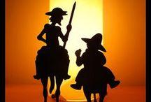 Cervantes vs Shakespeare / Dous grandes xenios da literatura que teñen en común a súa data de falecemento. Este ano 2016 conmemoramos o seu IV Centenario.