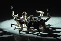 Spoleto56 - L.A. Dance Project  / Immagini dello spettacolo dei ballerini di Benjamin Millepied. Esibizione prima scena, Teatro Romano, 12 luglio 2013, Spoleto, Festival dei Due Mondi.