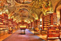 We ♥ Libraries / On ♥ les biblios / Gorgeous libraries from around the world! ---- De merveilleuses bibliothèques à travers le monde!