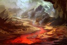 Lava Area
