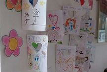 Kiddos writing