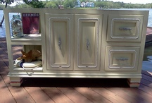 Sea Worthy Custom Vanity / New Handcrafted Custom Nautical Vanity by Brad Schnur We've buoyed our feet, tied our ropes and anchored our hardware!  Ready for the Sea! / by Brad Schnur