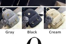 mochilas / son muy bonitas
