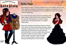 Character Profiles / Profiles of Characters that appear in 'The Adventures of Baba Bhalu'
