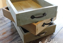 DIY repurposing / Repurposing old furniture, knick knacks, anything into awesome, functional everyday pieces for around the house. / by Kim Wojcuilewicz