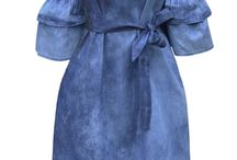Sukienka Jeansowa Hiszpanka Odkryte Ramiona #141 FASHIONAVENUE.PL