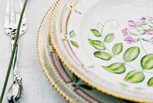 Delicate and fine porcelain and ceramic