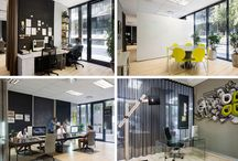 Office Searle / An office interior design we completed for a branding agency.