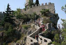 Republica di San Marino/Rimini / 1971 geweest tijdens vakantie in Rimini>>Hoogtepunt!!!