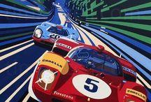 Race car art