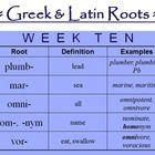 Education: Languages, mostly Latin