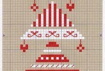 Borduren - Kerst / Winter