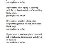 Things about writers