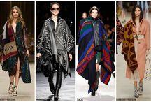 Trend: Blanket Coat / Trend Fall / Winter 2014-2015  http://fashionscrown.blogspot.gr/2014/09/the-blanket-coat.html
