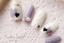 xmas&winter nails