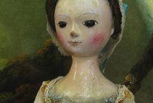кукла деревянная 17-18 век