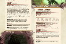 DND, 22.1. Terror Demon