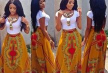 African prints...fashion