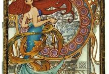 Art Nerdveau / Mostly art nouveau but I'm really not picky. / by Karen Hayes