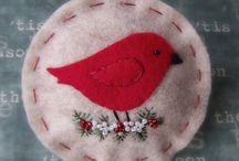 Christmas: Ornament ideas / Christmas ornaments.