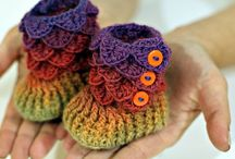 Craft: Crochet-Booties / The pitter patter of little feet:)