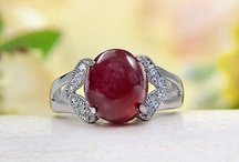 Rings and red Rubies