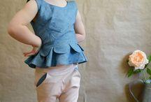 Inspiration vêtements enfants
