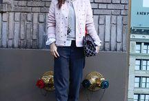 Fashion Week Looks / Os looks da consultora de moda Chris Francini nas Semanas de Moda Internacionais e São Paulo.