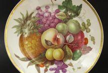 Disegni porcellana frutta