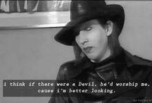 Marilyn fuckin' Manson