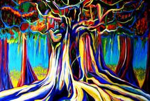 Rooted Art / Beautiful roots themed artworks