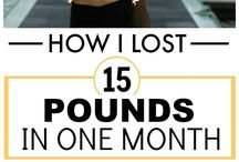 Losing weight / How to lose weight!