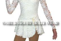 Jazmine's skating dresses