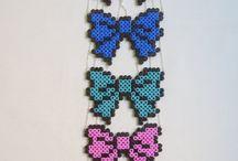 I found....Hama beads! :D