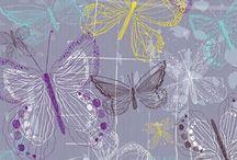 Textiles Q5 - Butterflies / Butterflies and other associated creatures