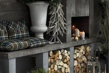 Winter home decorations