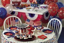 July 4th, Memorial Day, Patriotic Decor