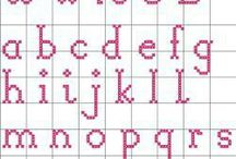 alfabe şablonu