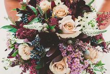 Plum & Purple wedding flowers
