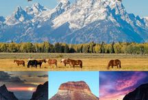 America's National Parks / Places we've been, places we'd like to visit. National and State Parks, all here in the good 'ole USA