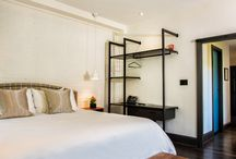 Avery Georgetown Hotel / Project by Hendrick Interiors Featuring hanging system by Porro and sliding doors by Glas Italia