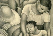 Diego Rivera & Frida Kahlo - www.evapartcafe.com