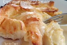 German Apple or pear pancake recipe