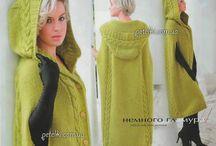 knitting jacket