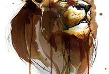 L comme lion
