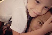❤ Neymar and Davi ❤ / ❤ Daddy + son ❤ Te amo