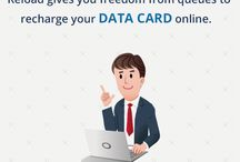 Data Card Recharge / Latest offers on data card recharge through online.