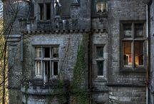 Talot, rakennukset / Old abandone mansion